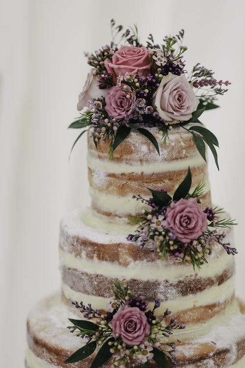 Gâteau de mariage - Naked cake